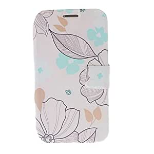 Buy Small Florals Leather Case with Stand for Samsung Galaxy Note 2 N7100
