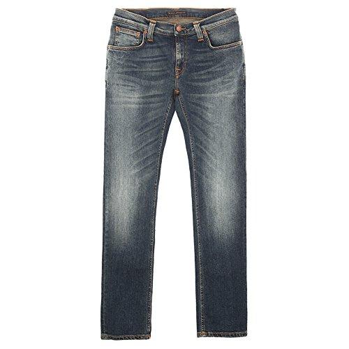 cheap Nudie Jeans Men's Tight Long John White Jean 111886 White SZ ...