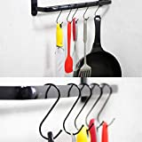 30 Pack S Hooks, Large S Shaped Hanging Hooks, S