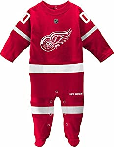 Detroit Red Wings Toddler Coverall Hockey Jersey