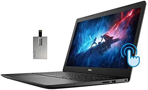 "2020 Dell Inspiron 15 3593 15.6"" FHD Touchscreen Laptop Computer, Intel Quad-Core i7-1065G7, 32GB RAM, 1TB HDD+1TB SSD, Intel Iris Plus Graphics, MaxxAudio, HD Webcam, Win10S, 32GB SnowBell USB Card WeeklyReviewer"