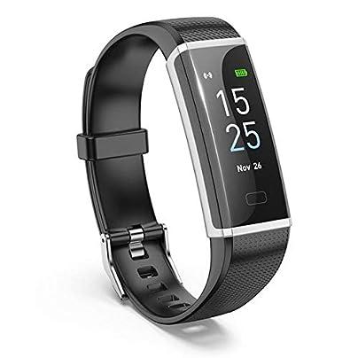 ZHLYQ Smart Wristband Waterproof Sports Smart Wristband Pedometer Track Blood Pressure Heart Rate Monitor Estimated Price £59.98 -