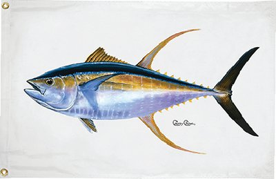 Taylor Made Products 1930 Carey Chen Tuna Flag, 16 x 24-Inch For Sale
