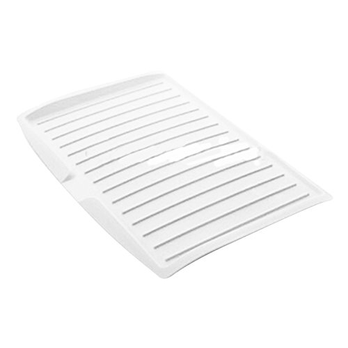 Dishes Drying Rack Tray,Kitchen Large Plastic Drip Drain Pla