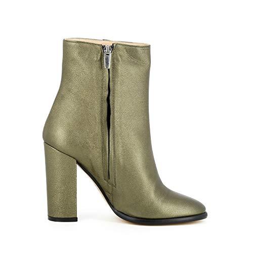 Evita Eliane Femme Shoes Métallique Or Couleur Bottines 00rg5wq