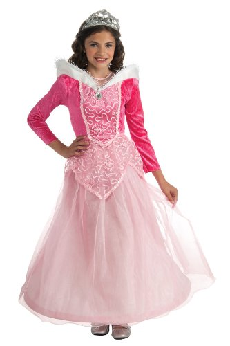 Halloween Sensations Let's Pretend Child's Sleeping Beauty Costume, Large