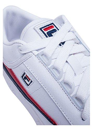 Sneakers Uomo Sneakers Fila Uomo 1VT13037 Pelle Bianco Bianco Fila Fila Sneakers 1VT13037 Pelle Uomo HpnY6xwzqT