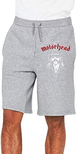 モーターヘッド Lemmy ハーフパンツ メンズ ショートパンツ フィットネス トレーニングウェア 吸汗速乾