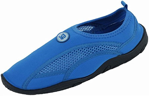 Brand New Womens Slip-On Athletic Water Shoes / Aqua Socks Available In 5 Colors Blue 8tcQdY