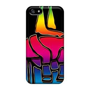New Fashion Premium Tpu Case Cover For Iphone 5/5s - Anubis