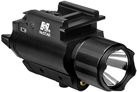 Details about  /Compact Red//Green Laser Sight Gun Rail Rifle Pistol Light LED Flashlight Combo