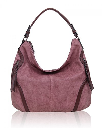 Holiday Bag LeahWard Burgundy Bags For Leather Women's Shoulder Handbags Work Faux Cx784wq