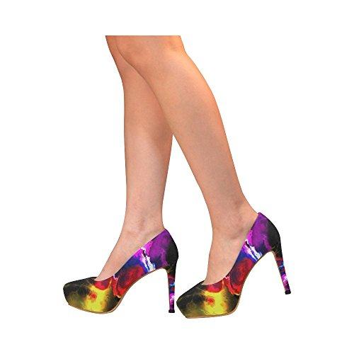 Frattale Vintage Scarpe Da Donna Sexy Con Tacchi Alti Scarpe Da Donna Fantastiche Frattaglie