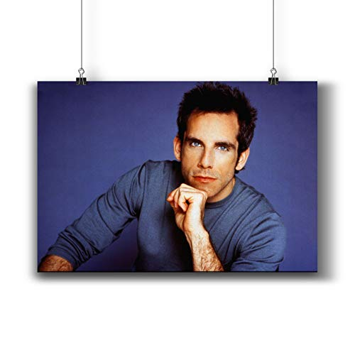 Ben Stiller Actor Movie Photo Poster Prints 413-002,Wall Art Decor for Dorm Bedroom Living Room (A4|8x12inch|21x29cm)