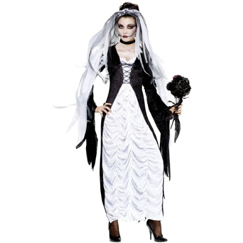 Halloween Costumes Bride Of Darkness (Bride of Darkness Adult Costume -)