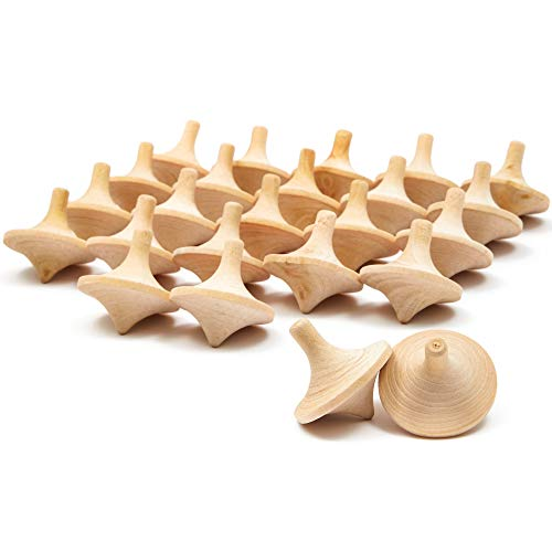 wooden toy tops - 9