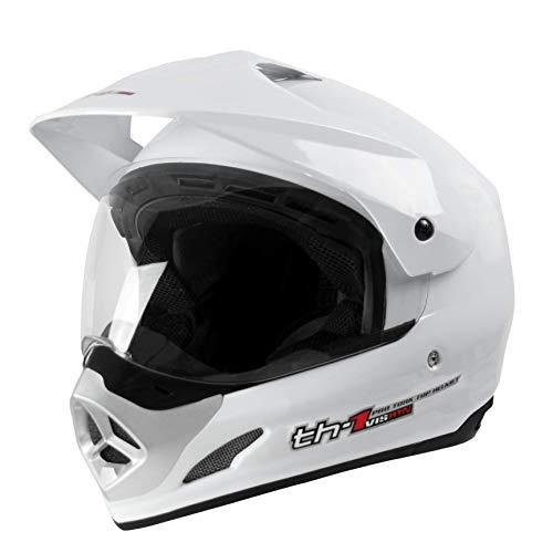 Pro Tork Capacete Th1 Vision 58 Branco