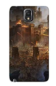 Durable Protector Case Cover With Fortress During The War Hot Design For Galaxy Note 3 (ideal Gift For Lovers)