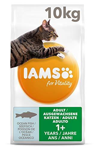 IAMS for Vitality Katzenfutter trocken, Trockenfutter für Junior / Erwachsen / Senior Katzen, verschiedene…