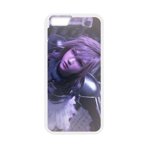 Eclair Farron Final Fantasy 004 coque iPhone 6 Plus 5.5 Inch Housse Blanc téléphone portable couverture de cas coque EOKXLLNCD17859