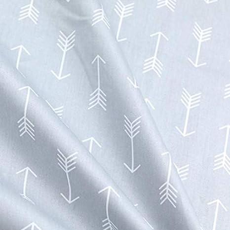 Tela africana de 160 cm, 50 cm, tela de algodón gris con diseño de ...