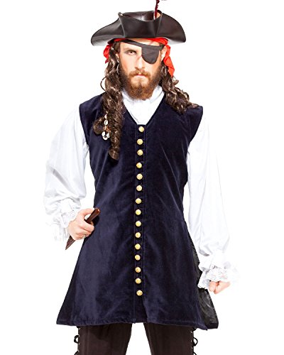 Pirate Captain Worley Vest