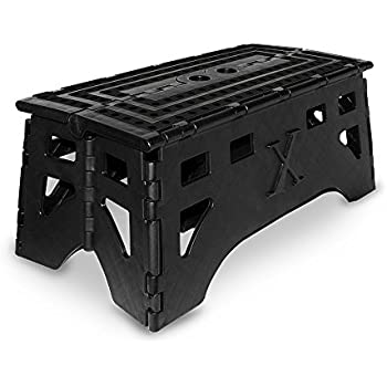 Expace Folding Step Stool 20 Inch Extra Wide Heavy Duty