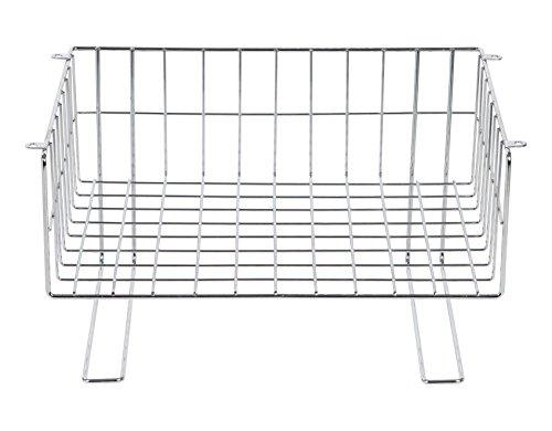 (IRIS Wire Under Cabinet Mountable Storage Basket)