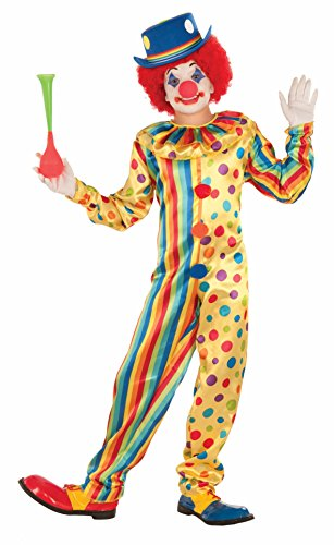 Forum Novelties Kids Spots The Clown Costume, Multicolor, Large -
