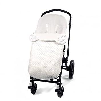Pasito a pasito 73476 - Funda silla y saco para verano universal, diseño oso, color rosa normandie: Amazon.es: Bebé