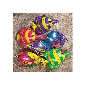 (Fun Express Inflatable 14 inch Tropical Fish Toy (1)