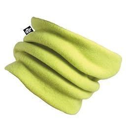 Turtle Fur Original Turtle Fur Fleece Kids Turtle\'s Neck, Double-Layer Fleece Neck Warmer, Monster Green