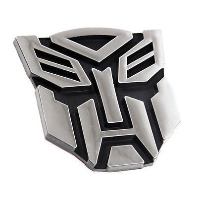BADASS SHARKS Transformers Logo Autobot Emblem Badge Graphics Decal Car Sticker Decal - Autobot Car Badge