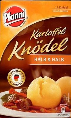 (Pfanni Potato Dumplings Half & Half, 12 pieces)