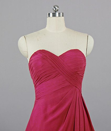 Dresses Strapless ANTS Sweetheart Cocktail Hot Women's Bridesmaid Pink XOTwgq
