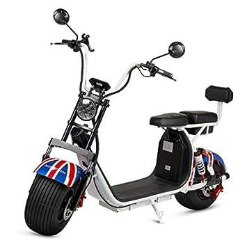 Moto Citycoco, Guardabarros color England, Motor 1000W ...