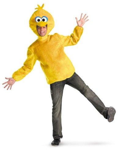 [Sesame Street Big Bird Men's Costume (42-46)] (Big Bird Male Costumes)