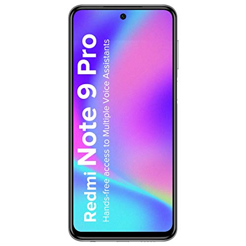 Redmi Note 9 Pro (Interstellar Black, 4GB RAM, 64GB Storage)- Latest 8nm Snapdragon 720G & Alexa Hands-Free