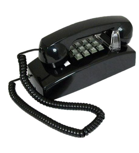 (Cortelco 255400-Vba-20md Wall Phone Valueline Black)