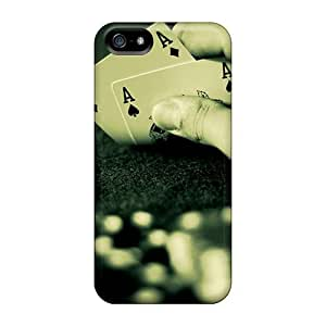 Snap-on Aces Case Cover Skin Compatible With Iphone 5/5s
