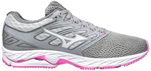 Mizuno Running Mens Wave Shadow Running-shoes Griffin / Bianco / Elettrico