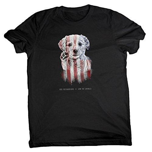 $5 Donated To Veterans-Arm The Animals Men's Hero Lab Shirt