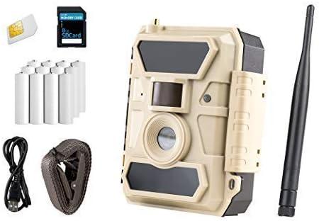 ICUserver 3G - Cámara de vigilancia con Tarjeta SIM: Amazon.es ...
