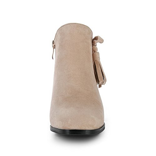 1TO9 1TO9Mns02586 - Sandalias con Cuña Mujer albaricoque