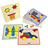 Excellerations PATCARD Excellerations Pattern Block Picture Cards (Pack of 20)