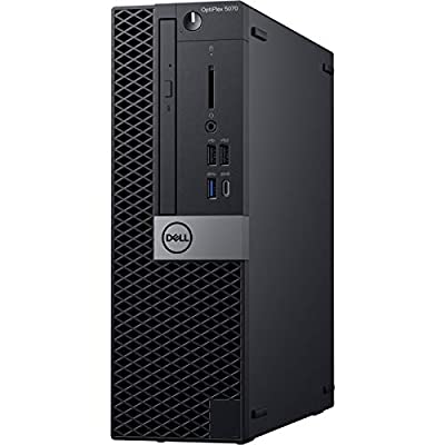 Dell OptiPlex 5070 Desktop Computer - Intel Core i5-9500 - 8GB RAM - 16GB Optane Memory - 1TB HDD - Small Form Factor