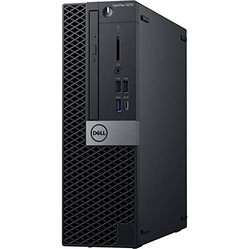 Dell OptiPlex 5070 Desktop Computer – Intel Core i7-9700 – 8GB RAM – 256GB SSD – Small Form Factor