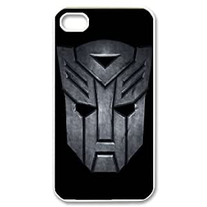 WJHSSB Customized Print Transformers Pattern Back Case for iPhone 4/4S