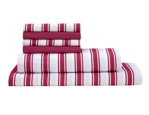 red and white sheets - 3