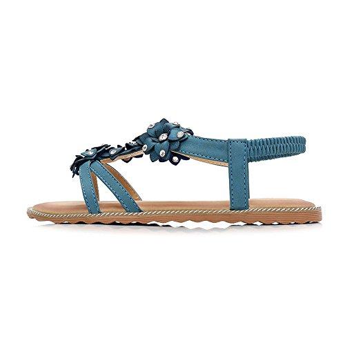 Vacances Sandales Plage Aqua Joker Voyage Blue Survêtement Sandales Antidérapant Femme Bohême zRzq0g